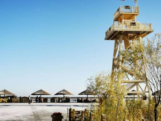 深秋看胡楊慢游庫爾勒火車兩日三天之蓮花湖