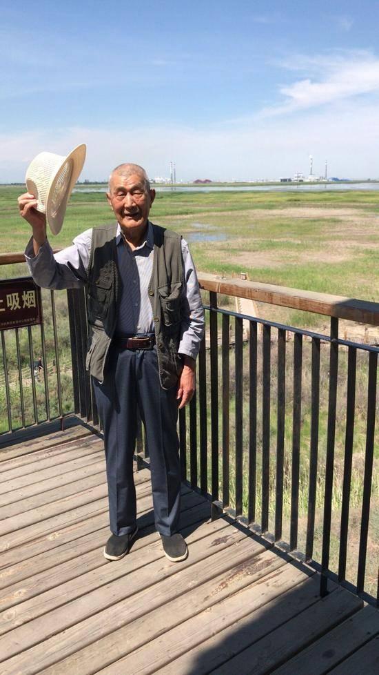 父亲节带爸爸游玛纳斯湿地公园,图二