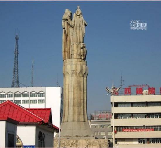 乌鲁木齐城的镇山之鼎,图四