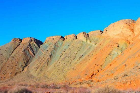 新疆旅游非常奇特的努尔加峡谷,图九