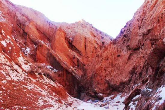 新疆旅游非常奇特的努尔加峡谷,图五