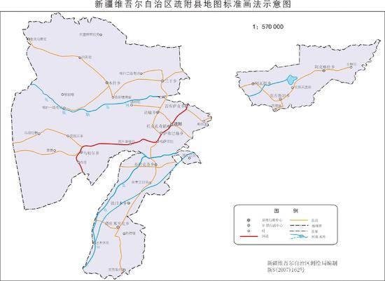 新疆疏附县地图