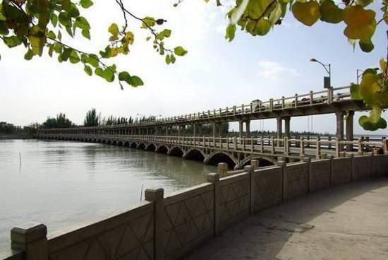 新疆阿克苏塔里木祥龙湖风景区,图三