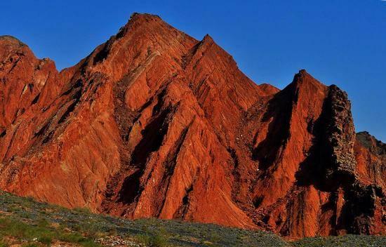 新疆阿克苏天山神秘大峡谷,图六