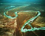 新疆阿克苏塔里木盆地