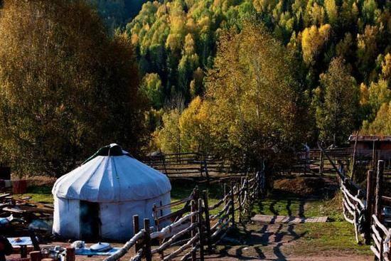 新疆阿勒泰图瓦人部落,图五