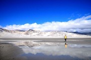 新疆阿勒泰哈巴河白沙湖景区