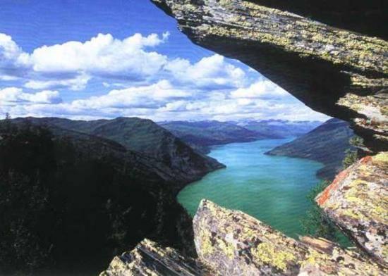 新疆阿勒泰鸭泽湖,图三