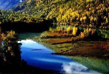 新疆阿勒泰鸭泽湖,图二