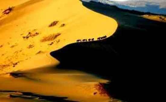 哈巴河鸣沙山,图一