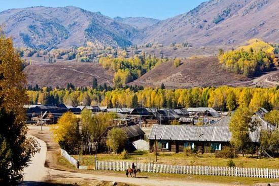 新疆阿勒泰图瓦人部落,图六