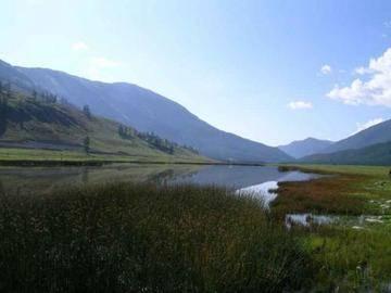 新疆阿勒泰鸭泽湖,图一