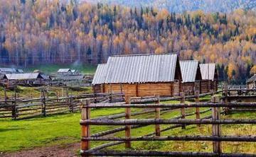 新疆阿勒泰禾木村,图二