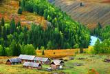 新疆阿勒泰禾木村