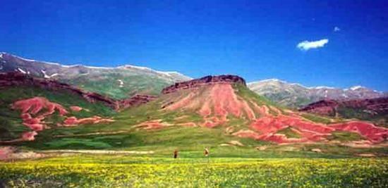 新疆阿图什夏牧场玉其塔什,图一