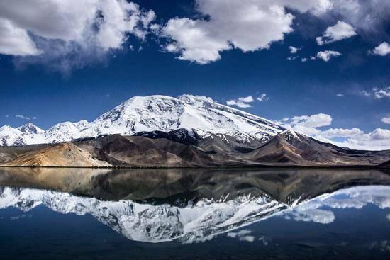 新疆阿图什幕士塔格峰,图一