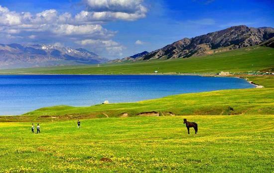 新疆博乐赛里木湖,图三