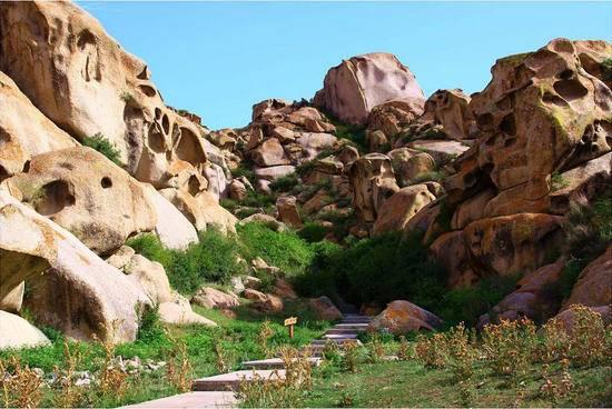 新疆博乐怪石沟风景区,图一