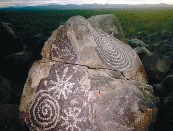 新疆博乐古代岩画,图一