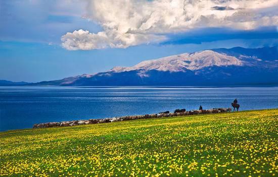 新疆博乐赛里木湖,图二