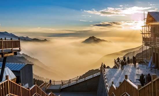 新疆天山天池马牙山观景点,图五