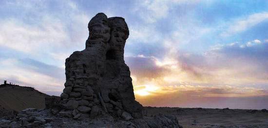 新疆和田尼雅遗址,图三
