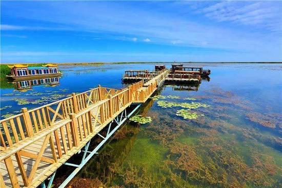 新疆库尔勒巴州博湖县阿洪口旅游风景区,图三