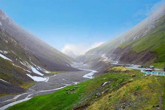新疆最美公路独库公路,图六