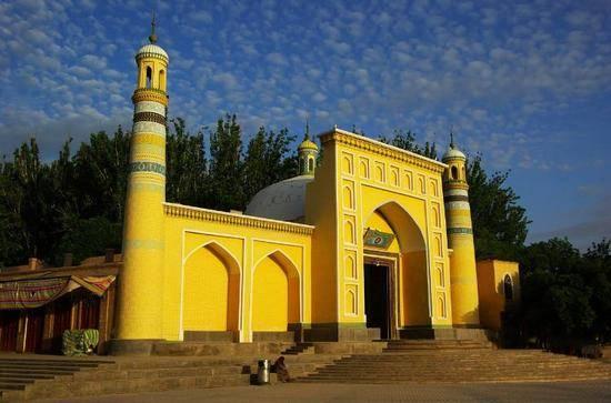 新疆喀什艾提尕尔清真寺,图一