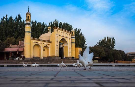 新疆喀什艾提尕尔清真寺,图二
