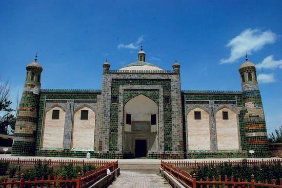 新疆喀什香妃墓-喀什阿帕尔霍加墓,图二