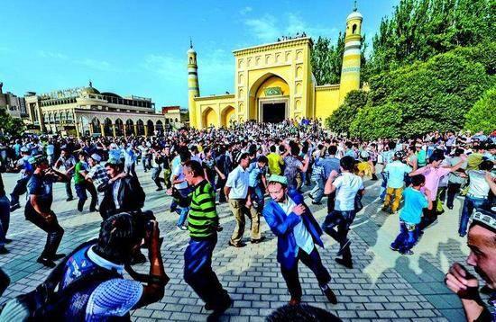 新疆喀什艾提尕尔清真寺,图五
