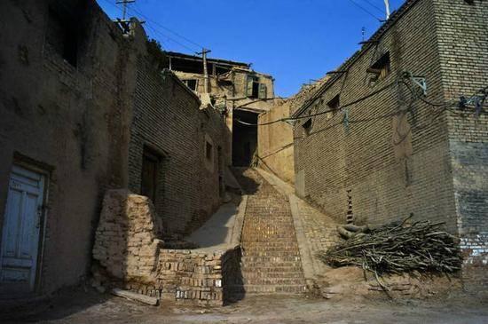 新疆喀什高台民居,图三