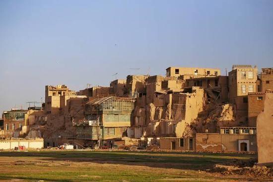 新疆喀什高台民居,图二