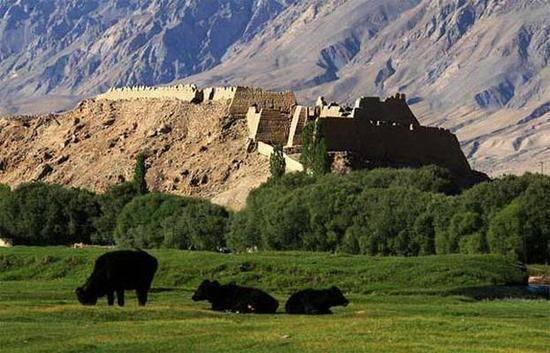 新疆喀什石头城,图二