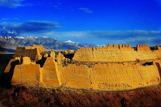新疆喀什石头城,图一