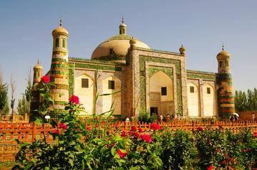 新疆喀什香妃墓-喀什阿帕尔霍加墓,图一