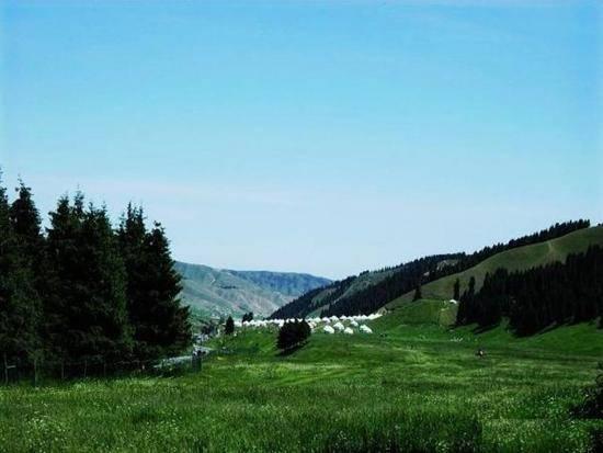 新疆石河子南山风景区,图二