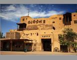 新疆吐鲁番维吾尔古村