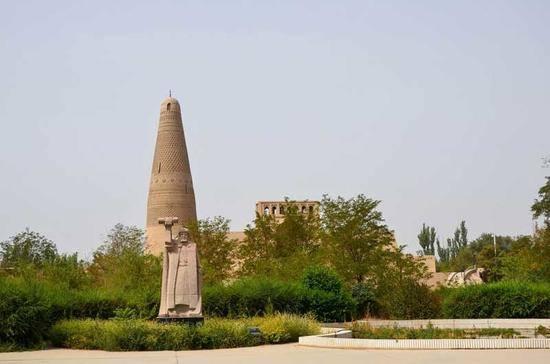 新疆吐鲁番苏公塔,图二