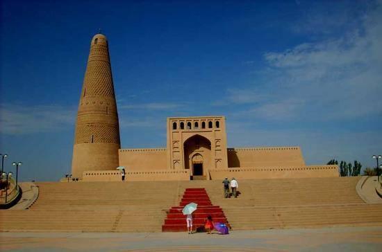 新疆吐鲁番苏公塔,图一