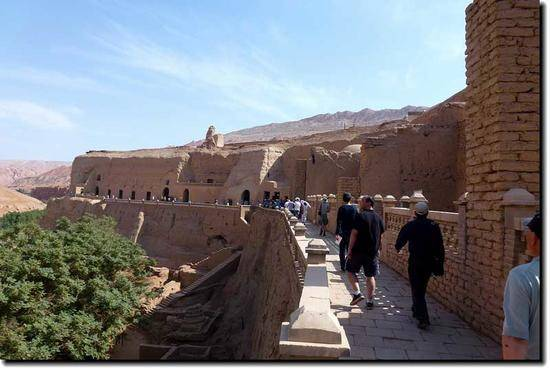 新疆吐鲁番柏孜克里克千佛洞,图一