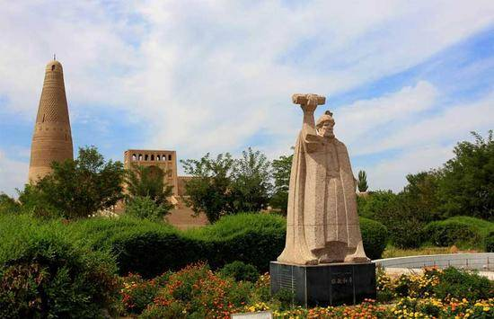 新疆吐鲁番苏公塔,图三