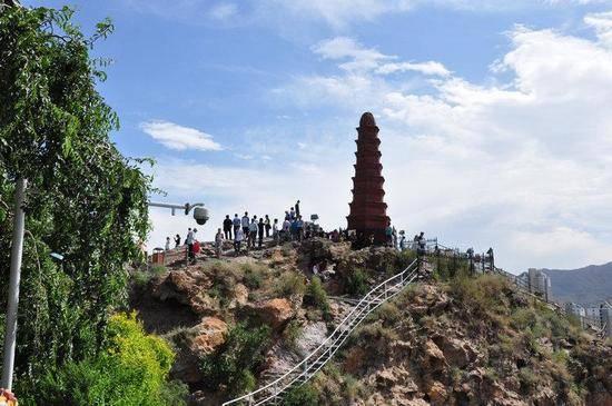 新疆乌鲁木齐红山公园,图二