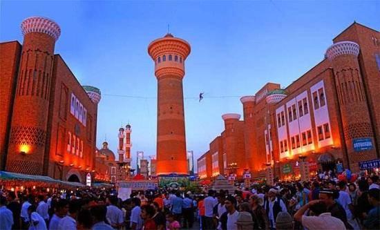 新疆乌鲁木齐国际大巴扎,图二