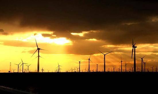 新疆乌鲁木齐达坂城风力发电站,图二