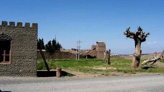 新疆乌鲁木齐达坂城区古镇,图二