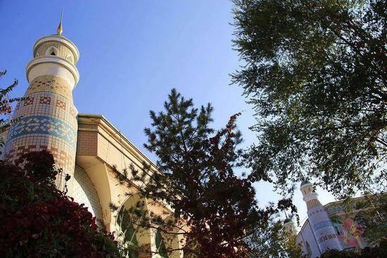 新疆乌鲁木齐塔塔尔寺,图一