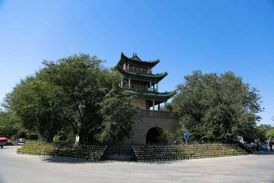 新疆伊犁惠远古城,图三