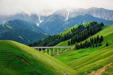 新疆伊犁果子沟大桥,图三